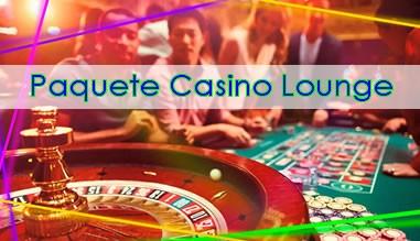 Paquete Casino Lounge Fiestas para Adultos